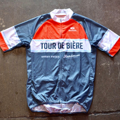 Tour De Biere Bike Shirt - Mens and Womens