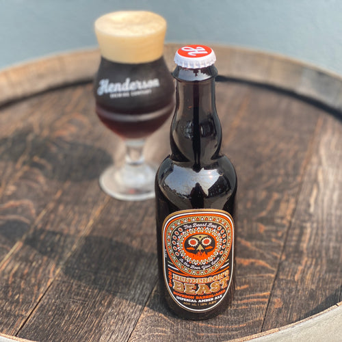 Henderson's BEAST: Bourbon-Barrel Aged Imperial Amber Ale