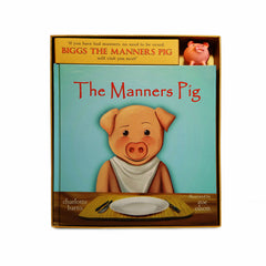 Manners Pig Book & Toy Set