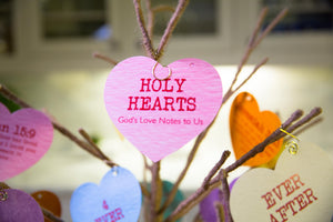 Holy Hearts Christian Devotional Card Set