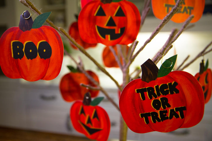 Trick or Treat Ornaments--12 Cards