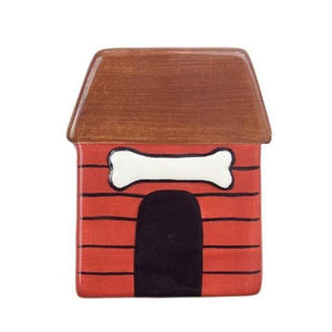 Doghouse Hand-Painted Ceramic Magnetic Topper