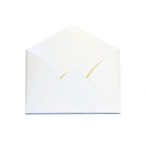 Everything Envelope White Metal Card Holder