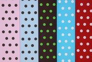 Polka 5-Pack Ribbon Collection For The Write Plate
