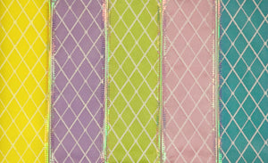 Pastel Windowpane 5-Pack Ribbon Collection For The Write Plate