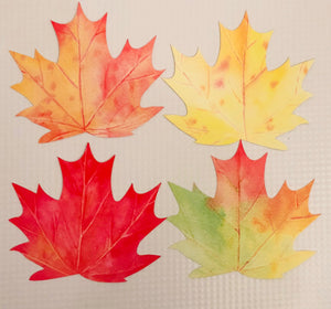 Thankful Leaves - Blank Leaves Add On Card Set