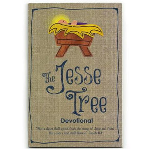 Jesse Tree Christian Devotional Book
