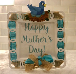 Happy Mother's Day Write Words Reusable Cling