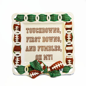 Touchdown Write Words Reusable Cling