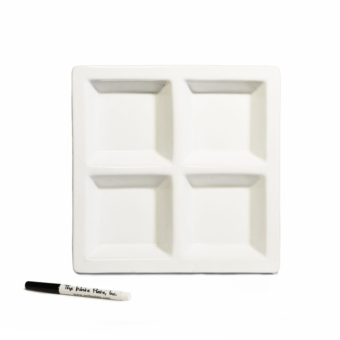 "Tradition Tray, 12"" Square Ceramic Tray"