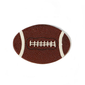 Football Hand-Painted Ceramic Magnetic Topper