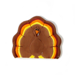 Turkey Hand-Painted Ceramic Magnetic Topper
