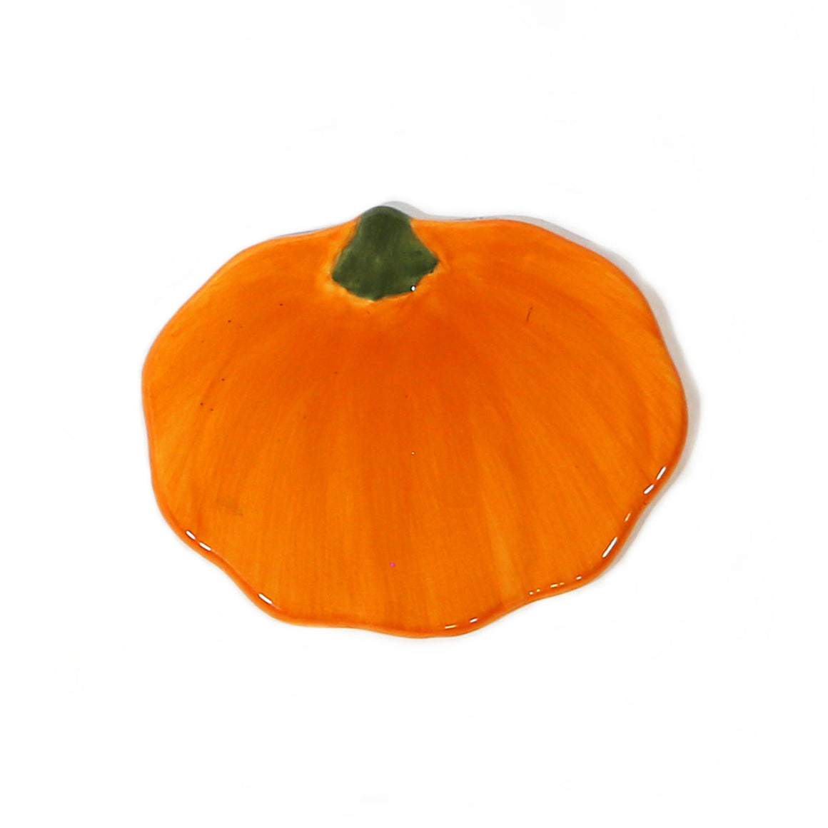 Pumpkin Hand-Painted Ceramic Magnetic Topper