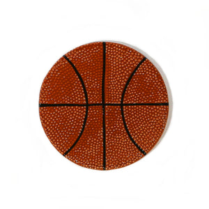 Basketball Hand-Painted Ceramic Magnetic Topper