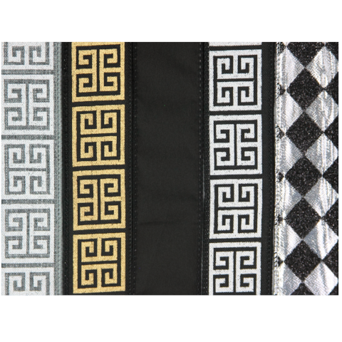 Greek Key, Anniversary 5-Pack Ribbon Collection For The Write Plate