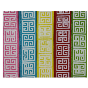 Greek Key, Bright 5-Pack Ribbon Collection For The Write Plate