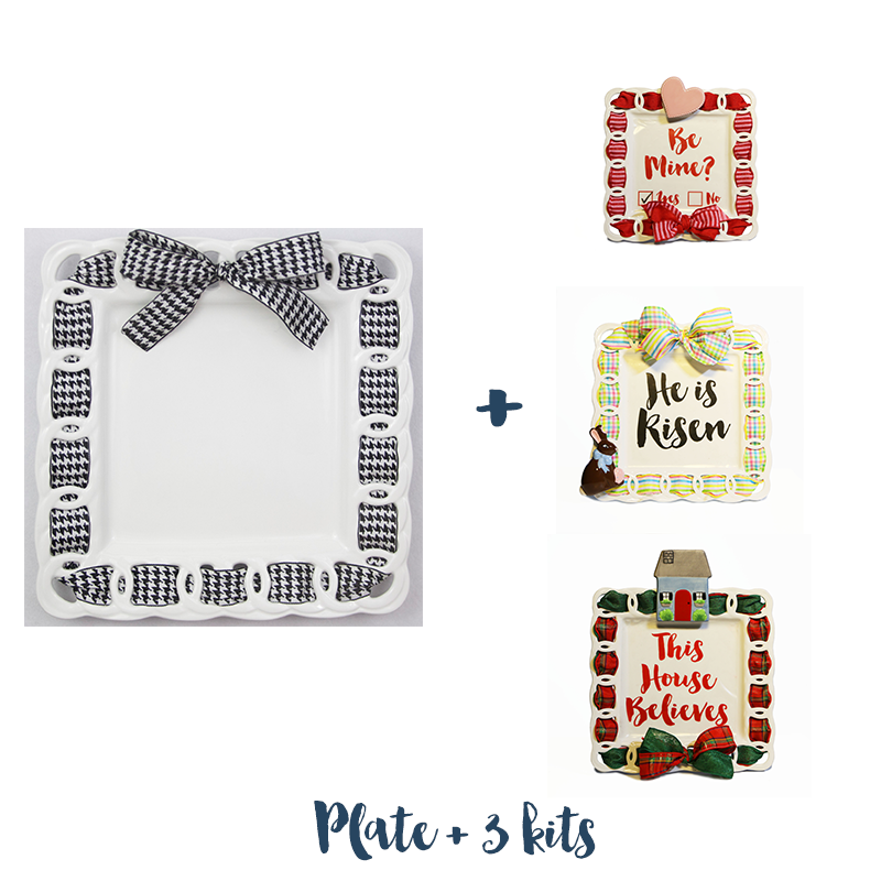 Write Plate and 3 Celebration Kits