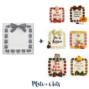 Write Plate and 6 Celebration Kits