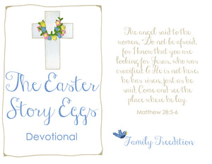 Easter Story Christian Devotional Book