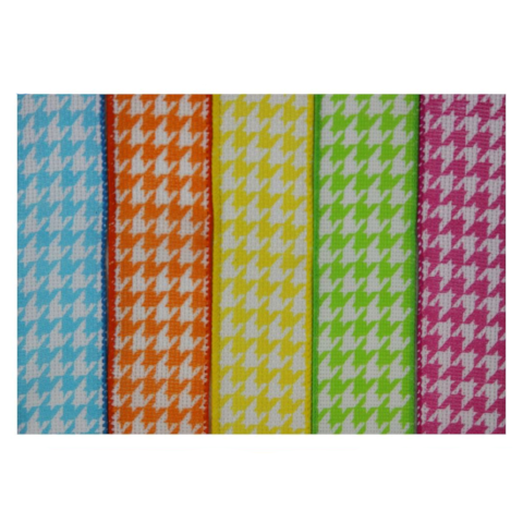 Houndstooth 5-Pack Ribbon Collection For The Write Plate