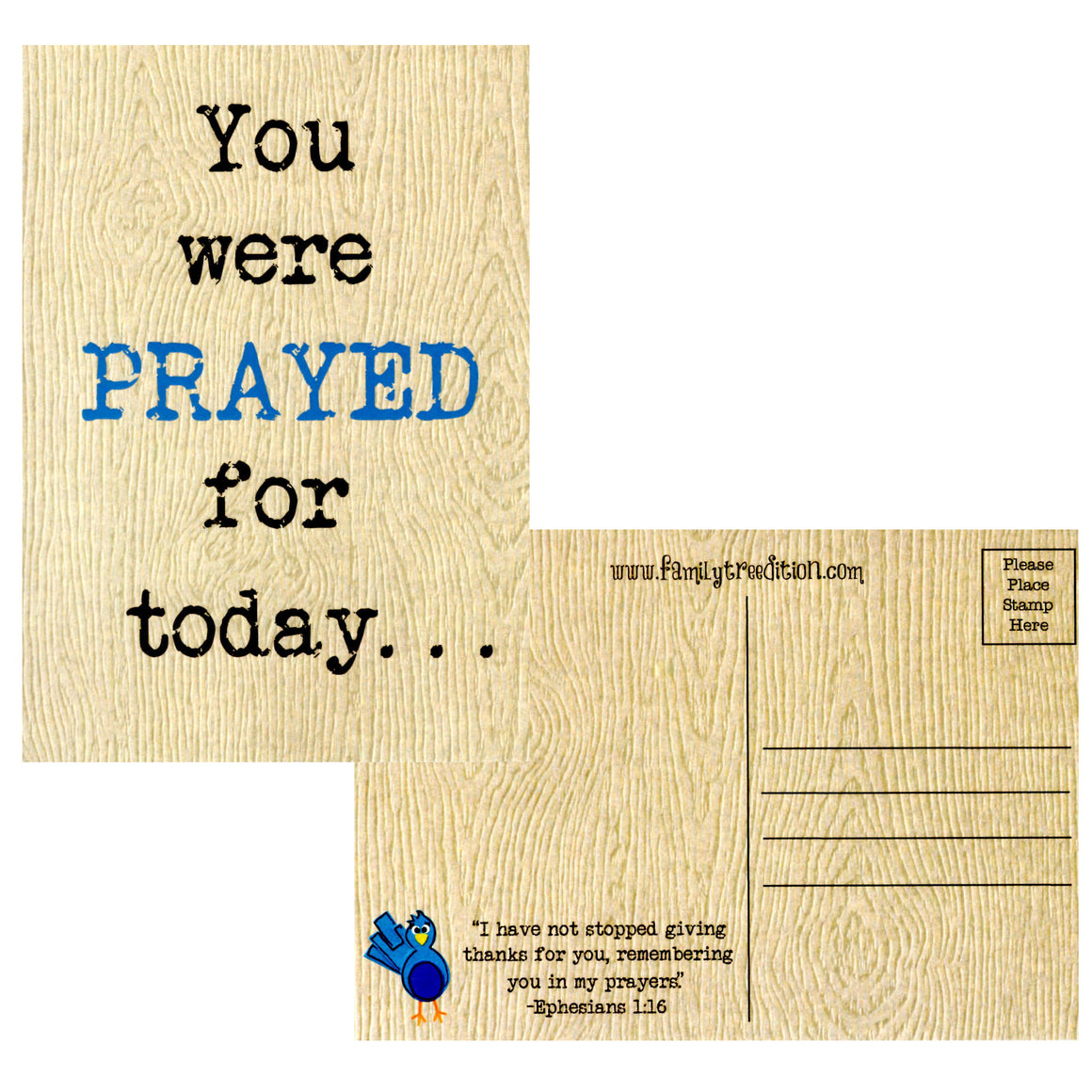 Prayer Postcards