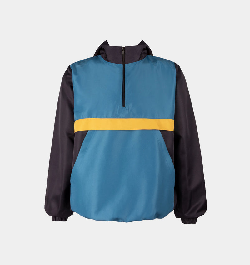 Surge Tricolor Windbreaker (Teal, Yellow)