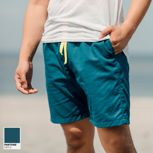Tailored Shorts (Teal)