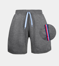 Pace Side Stripe Shorts (Dark Gray)