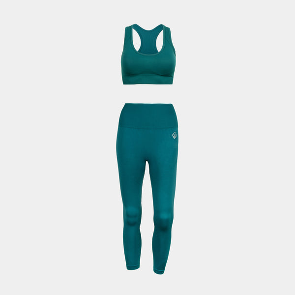 Women's Active Flex Set (Dark Green)