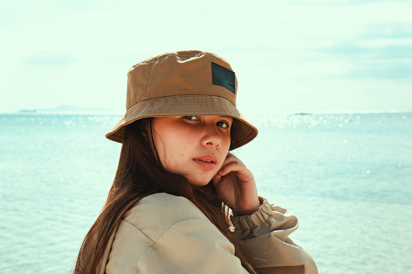 Surf's Up Bucket Hat (Khaki)