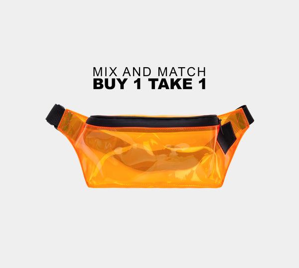 Departure Point Belt Bag (Orange)