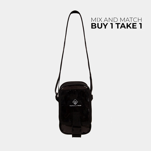 Departure Point Crossbody Bag (Black)