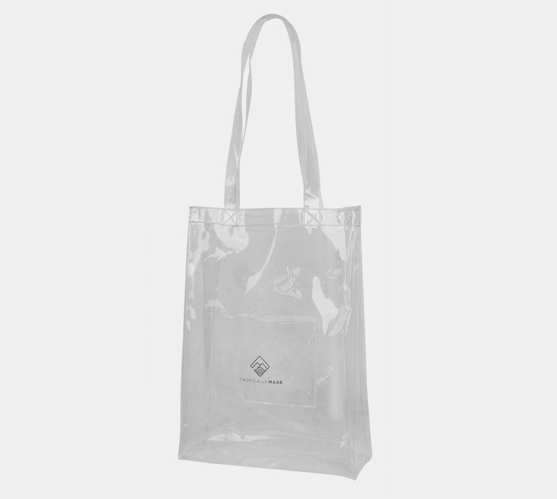 Departure Point Tote Bag (Clear)