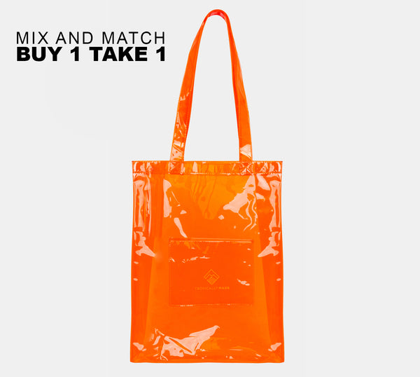 Departure Point Tote Bag (Orange)