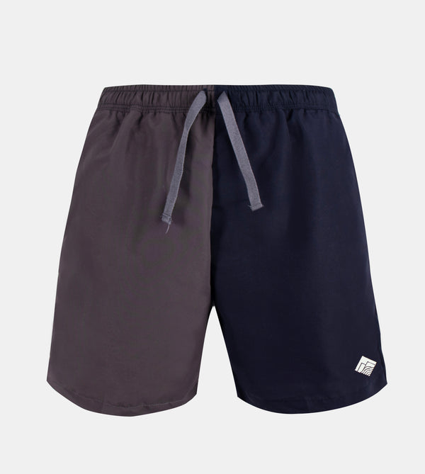 Drifter Swim Shorts (Gray, Navy Blue)