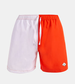 Drifter Swim Shorts (White, Orange)