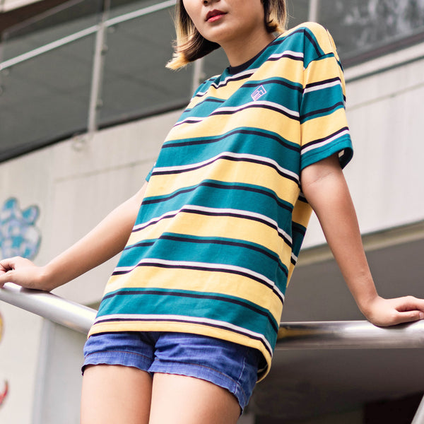 Mega Stripes Shirt (Yellow)