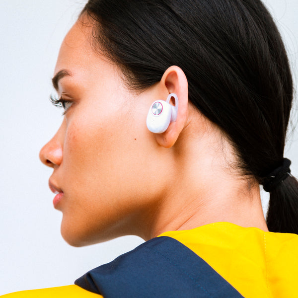 In Movement Bluetooth Earphones (White)