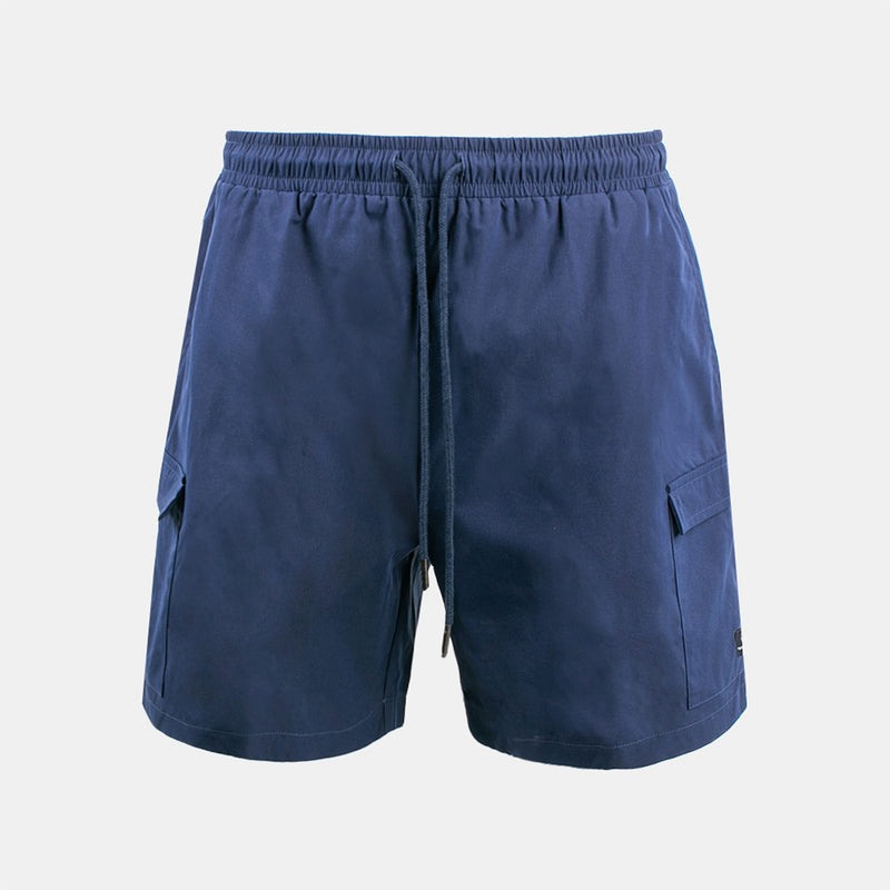 Tropics Cargo Shorts (Navy Blue)