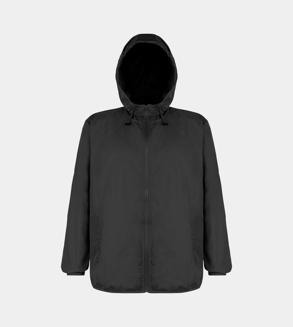Vapour Packable Windbreaker (Black)
