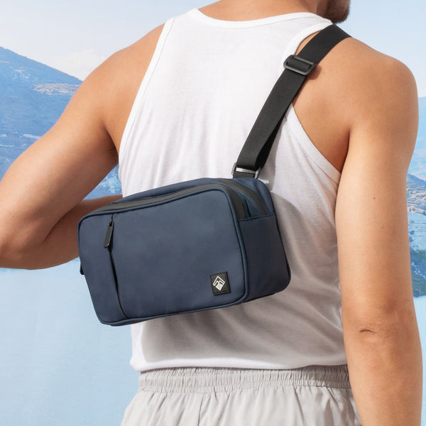 Nomad Traveler Bag (Navy Blue)