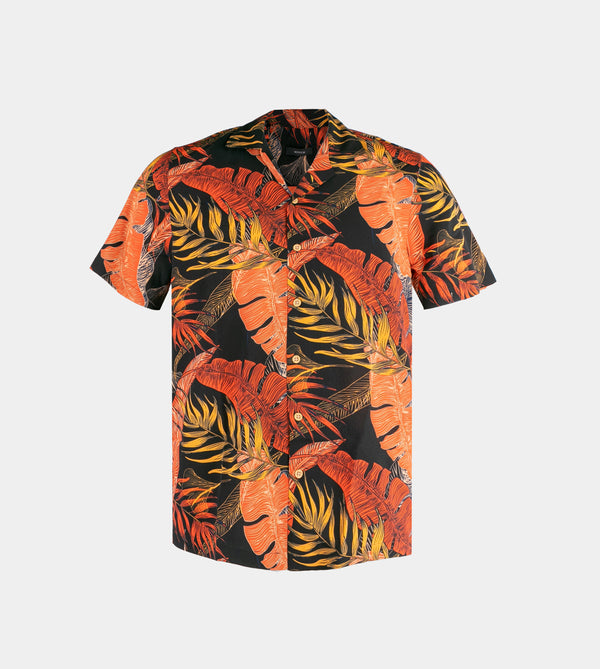 Tropics Cuban Shirt (Amazon, Black)