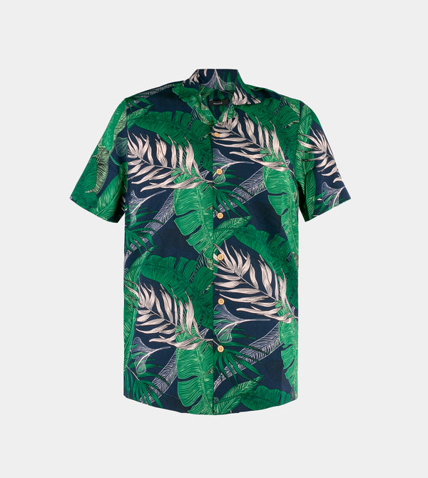 Tropics Cuban Shirt (Amazon, Green)