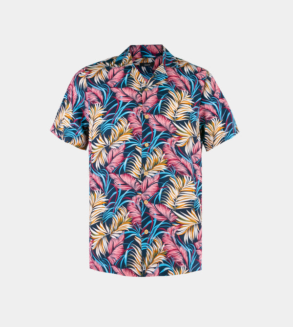Tropics Cuban Shirt (Fiji,Blue)