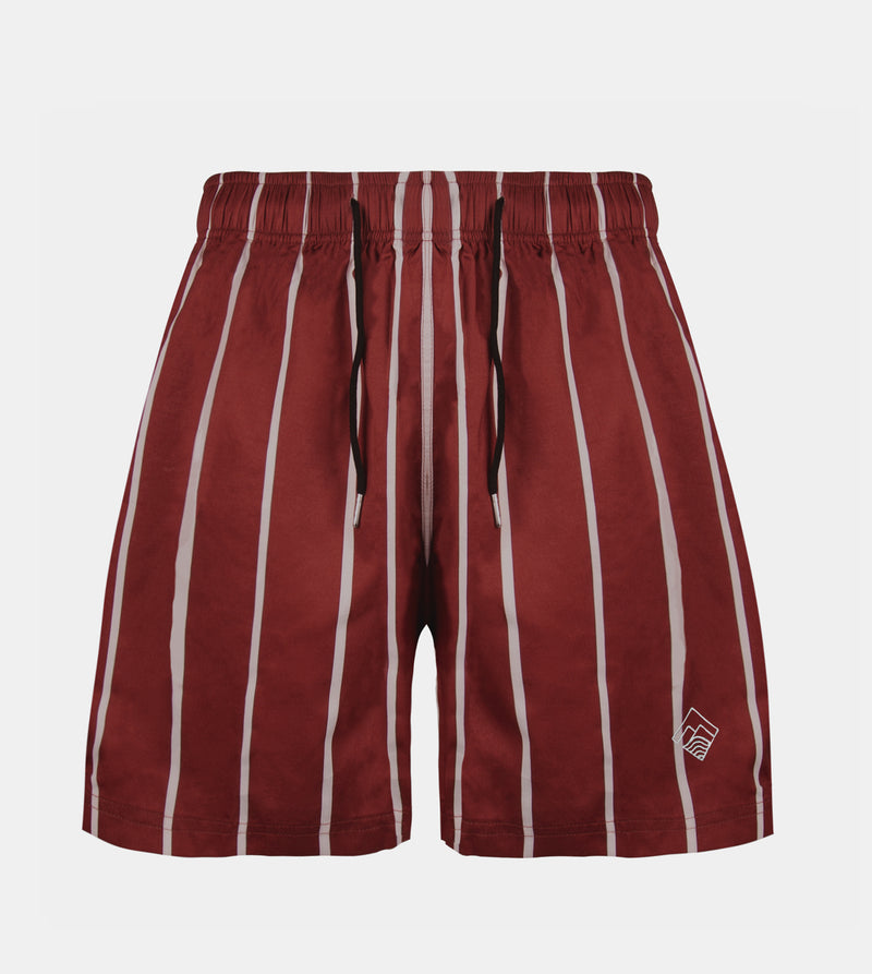 Coastline Swim Shorts  (Red)