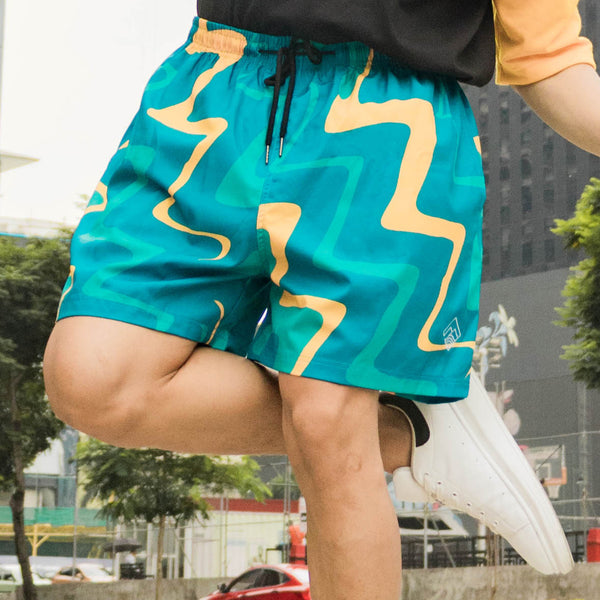 Pacific Swim Shorts (Teal)