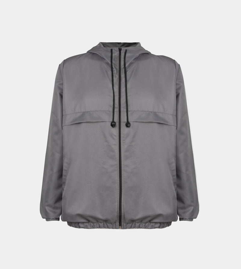 Rainfall Windbreaker (Limited Edition - Light Gray)