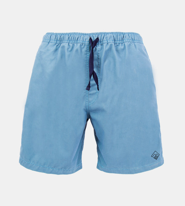 Tailored Shorts (Aqua Blue)