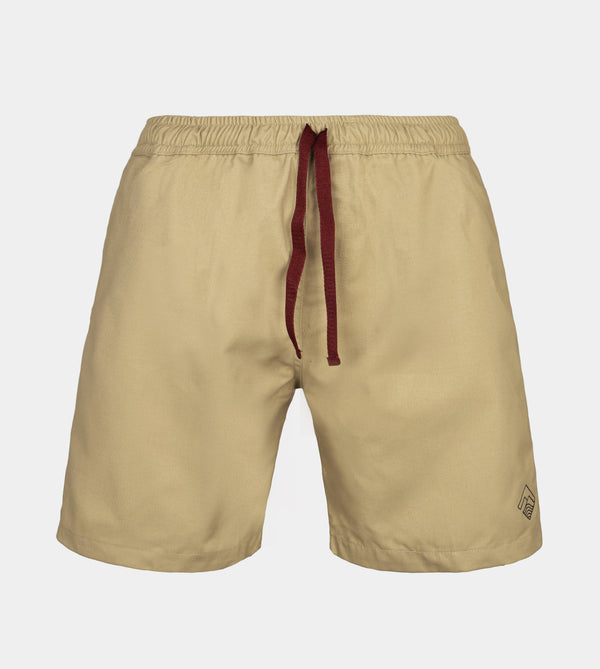 Tailored Shorts (Tan)