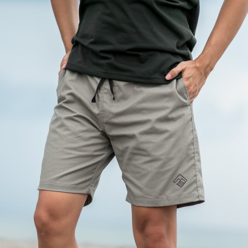Tailored Shorts (Ash Gray)